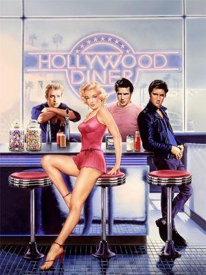 Hollywood Diner - Plexiglas