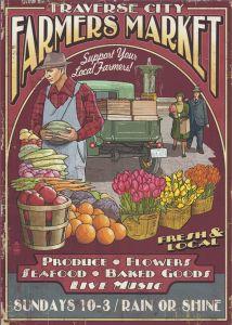 Farmers Market - Canvas