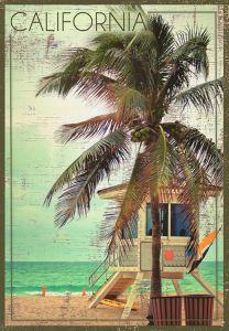 California Beach - Lifeguard Stand