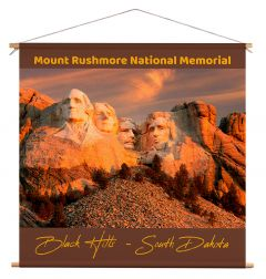 Wanddoek - Mount Rushmore